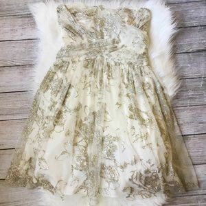 Gold Sparkle Dress {Hailey by Adrianna Pappell}
